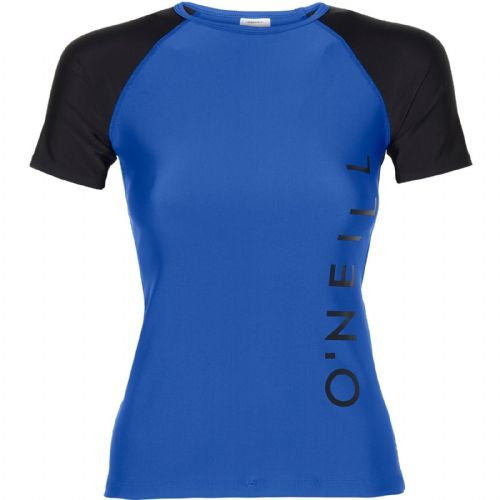 O'NEILL WOMENS RASH TOP.SPORTS LOGO UPF50+ SUN PROTECTION RASH VEST 8S 600 5144